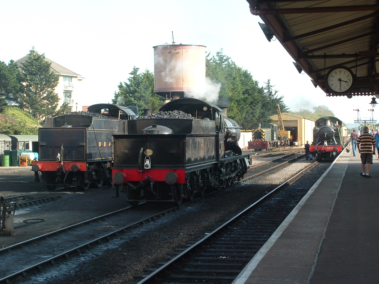 3850 at Minehead, Sept 2011