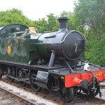 5542 GWR prairie at Totnes
