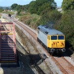Honeybourne Junction Platform 3, awaiting our trains from Cheltenham